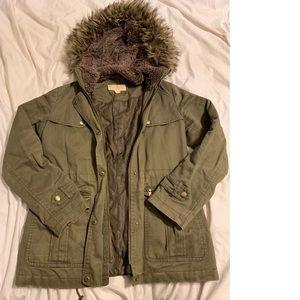 Michael Kors Olive green coat